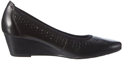 Marco Tozzi 22500 Award, Chaussures Compensées Pour Femmes Black (noir 001)