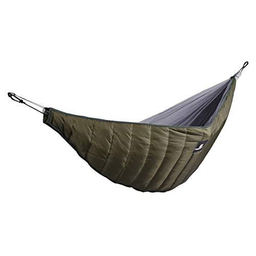 LeKing--Hamac De Camping Randonnée Voyage,Couverture Chaude épaissie d'hamac, Couverture de Coton d'isolation extérieure de Loisirs d'hiver,hamac,hamac avec Support(Emballage de Sac de PE)