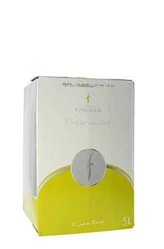 L'Ame Vigneronne Cubi Vin Blanc Chardonnay 5 L