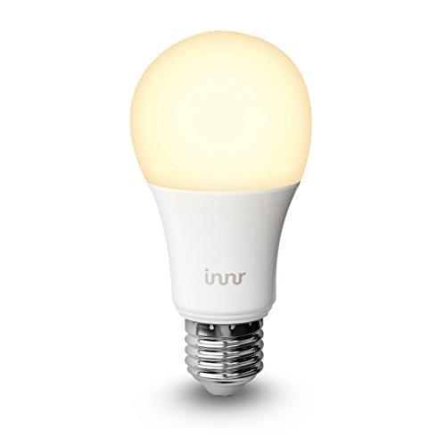 Innr E27 Bombilla LED conectada, luz blanca cálida, controlable vía smartphone, Hue* compatible, RB 165 width=