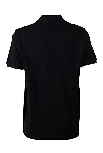 Pierre Cardin Mens Neue Saison klassische Passform Premium Polo T-Shirt aus Baumwolle Schwarz