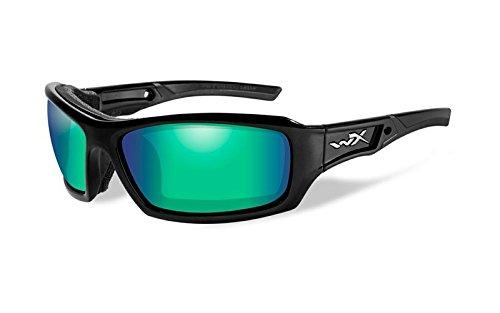 Wiley X Schutzbrille Sonnenbrille schwarz Schwarz / Schwarz