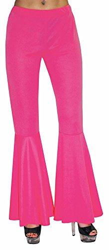 Hippie Schlaghose Damen Pink Gr. 36 38