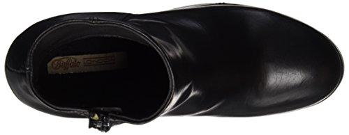 Buffalo London Es 30956 Garda, Stivali Donna Nero (Preto 01)