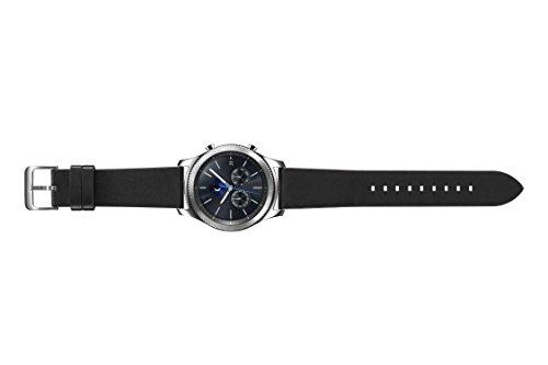 Samsung Gear S3 Classic 1.3″ SAMOLED 57g Silver – smartwatches (S/L, Round, Silver, Black, Black, Silver, Gorilla Glass 3)