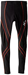 CW-X 241879A-852 Polyester Insulator Endurance Pro Tights, Men's Small (Black)