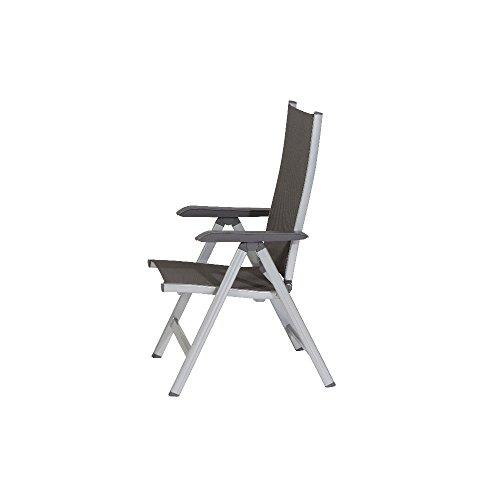 kettler-basic-plus-advantage-gartenstuhl-hochlehner-verstellbar-einfach-zusammenklappbar-praktischer-klappstuhl-aluminium-robuster-kunststoff-wetterfeste-gartenmoebel-silber-anthra