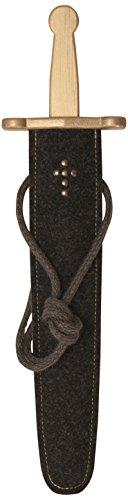 Spielzeugmanufaktur VAH 920 - stabiles Schwertset mit Prunkschwert, 48 cm Länge (König Arthur Ritter Kostüm)