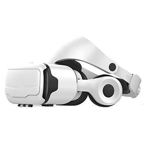 CHYE Virtual Reality Headsets, Vr Headset Virtual Reality Headsets VR Brille Video-Spiele kompatibel mit Smartphones innerhalb 4,7-6,0 Inch (weiß)