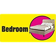 Self-adhesive Bedroom sticker sign for Dementia Alzheimers partially sighted (Standard 250x125 mm)