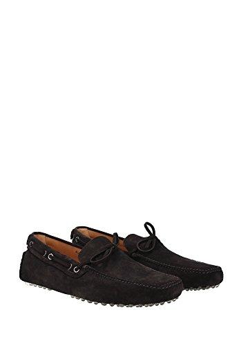 KUD006EBANOSCAMOSCIATOB Car Shoe Loafers Herren Wildleder Braun Braun