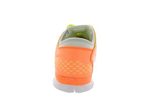 Nike Free 5.0 Print, Chaussures de running entrainement femme Orange (Atomic Orange/White/Volt/Lite Base Grey)