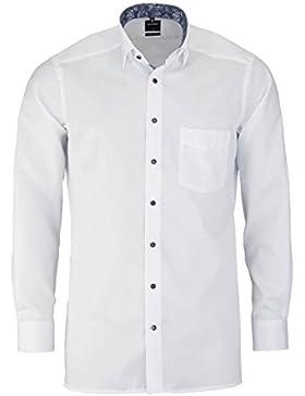 OLYMP Luxor modern fit Hemd extra kurzer Arm Popeline weiß AL 58