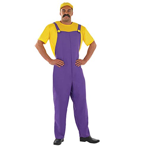 Fun Shack FN3925M Kostüm, Mens, Wario, M
