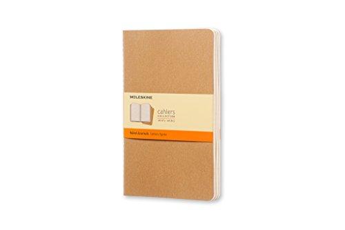 Moleskine Cahier Set 3 Quaderni a Righe, Grande