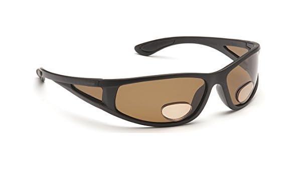 Darth Gleitsichtsonnenbrille/ Lesebrille, zum Angeln/ Sport, Bernsteinfarben