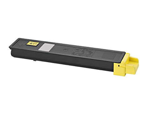 Rebuilt Toner für Utax 2550 ci, gelb, 6.000 Seiten, ersetzt 662510016 - 2550 Toner