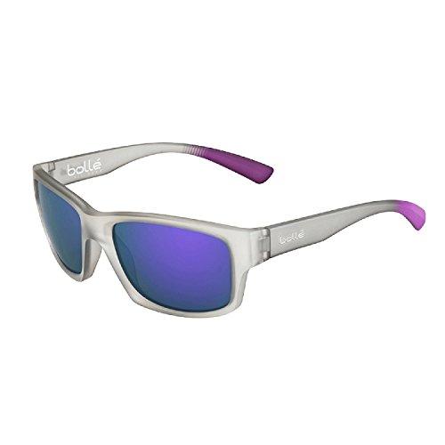 Bollé occhiali da sole holman, uomo, holman, matt grey crystal purple/tns violet, m