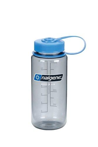 Nalgene Trinkflasche Wide Mouth, Grau, 400 mL