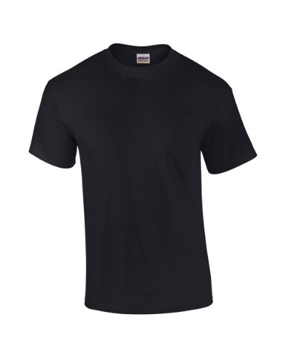 Gildan Shirt Erwachsene Ultra Cotton TM Schwarz