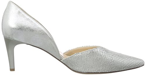 Högl 1- 10 6738, Chaussures à talons - Avant du pieds couvert femme Argent - Silber (7300)