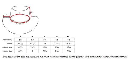Kakadu Traders Australia - Chapeau western - Homme orange rouille