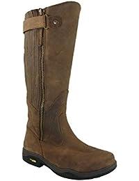 Kanyon - Botas de equitación para niño Marrón marrón