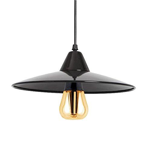 LED Pendel Lampe Wohn Ess Zimmer Tisch Decken Hänge Leuchte schwarz Kanlux 24251 -