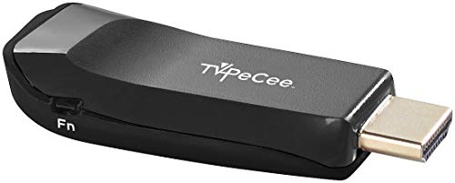 TVPeCee TV Stick: WLAN-HDMI-Stick für Miracast, Mirroring, AirPlay und DLNA, bis Full HD (HDMI Dongle)