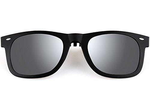 attclr-new-unisex-reflective-wayfarer-style-flip-up-clip-on-polarized-sunglasses-1hp806-silver