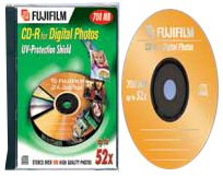 Fuji CD-Rom 700 MB 52x for digital photos [Jewel-Case] Fuji Photo