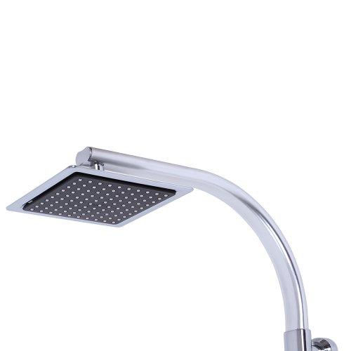 Aquamarin® dschpl05–02Duschsäule Duschpaneel zu Wandtattoo mit Duschkopf und Handbrause
