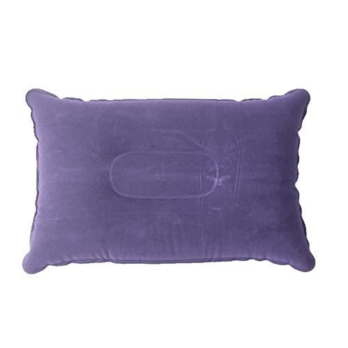 Aufblasbares Kissen im Freien, das Starkes quadratisches kampierendes Schlafsack-Kissen für das Reise-Falten-Kissen Sich sträubt (Quadratische Aufblasbare)