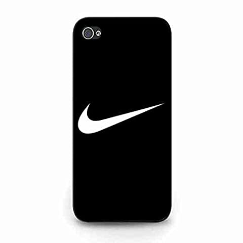 Hot Style Nike Logo Coque,Just Do It Nike Logo Iphone 5C Case,Nike Coque Black Hard Plastic Case Cover For Iphone 5C