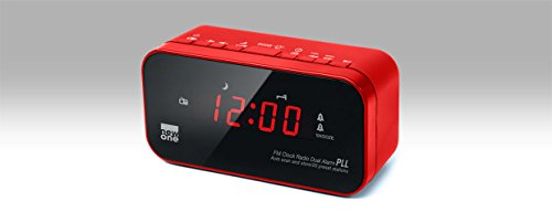 New One CR120 Radio/Radio-réveil - Roug