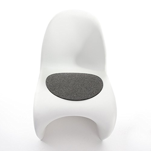 Hey-Sign Sitzaufl Panton Chair - V, Anthrazit AR