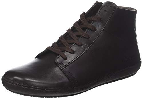 Kickers FOWNO, Zapatos de Cordones Brogue para Mujer, Marrón Marron 9, 37 EU