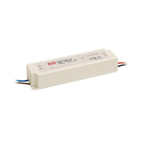 Mean Well LPV-100-12 LED-Trafo Konstantspannung 102W 0-8.5A 12 V/DC Nicht dimmbar, Überlastschutz [Energieklasse A] -
