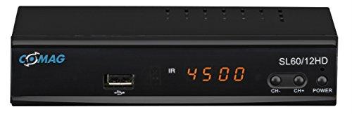 Comag SL60/12 HD HDTV Satelliten-Receiver (PVR ready), schwarz