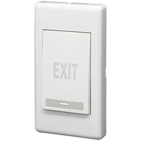 Interruptor de empuje de salida - TOOGOO(R)Panel de botones de estreno de puerta electrica de empuje de salida huelga