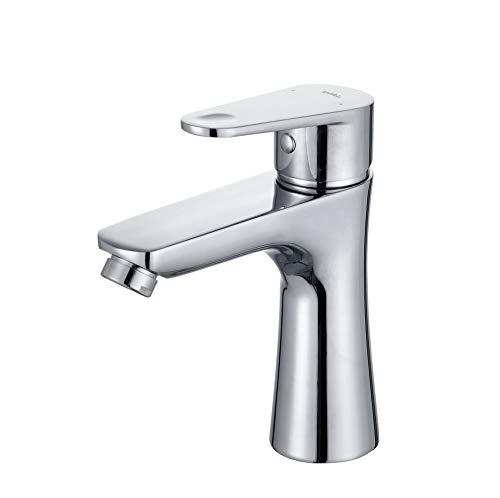 Umi. Essentials Waschbecken Armatur Bad Wasserhahn Chrom Einhebel Mischbatterie Wasctischarmatur