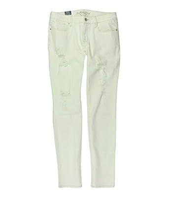 Bullhead Denim Co. Womens Destroy Skinny Fit Jeans