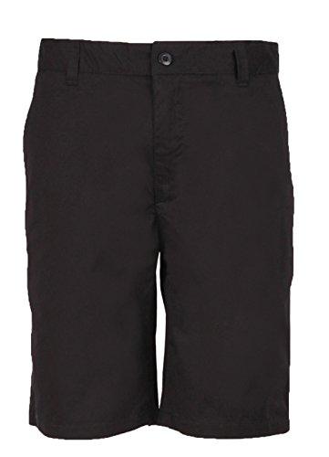 Marquis Signature Herren Chino-Shorts, 100% Baumwolle, 25,4 cm Innennaht - Schwarz - 50 China Marquis