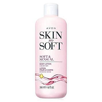 Avon Skin so Soft SSS Soft & Sensual Ultra Moisturiing Body Lotion Argan Oil 11.8oz. by Avon [Beauty] (English Manual)