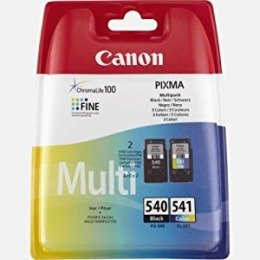 2 Drucker Patronen für Canon Pixma MG4250, MG 4250 - Original - Black/Color