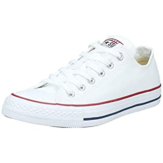 Converse Unisex-Erwachsene Chuck Taylor All Star-Ox Low-Top Sneakers, Weiß (Optical White), 39 EU