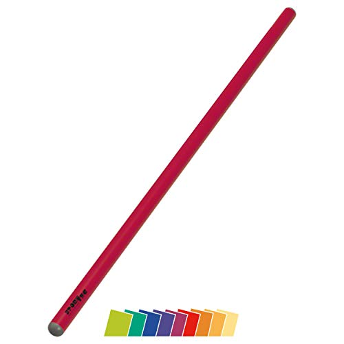 Sport-Tec Turnstab Junior aus Kunststoff, Gymnastik Stab, Trainingsstab, 80 cm