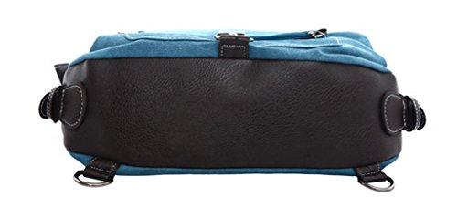 Longzibog Dual verstellbare Schultergurte und Hängeschlaufenband 2016 Neue Maedchen Rucksack Schulranzen Khaki