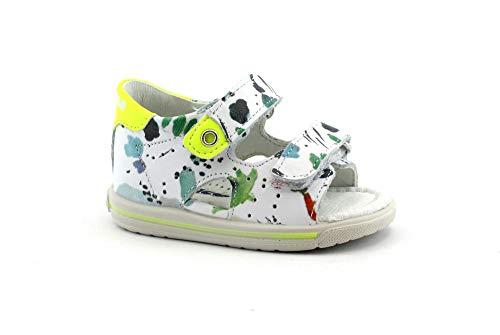 Falcotto Ariel 0779 weiße Schuhe Sandale Baby Perle zerreißt Leder 23 - Ariel Leder
