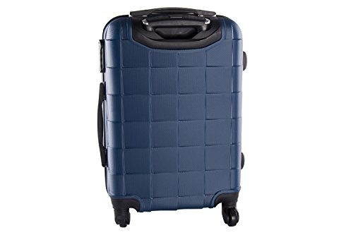 2 Maletas rígidas PIERRE CARDIN azul cabina para viajes 4 ruedas abs VS86